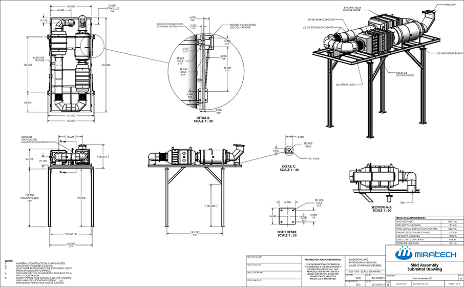 Skid-Assembly-Drawing